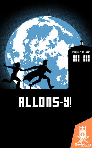 Camiseta Doctor Who - Allons-y! - by Ddjvigo