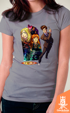 Camiseta Doctor Who - Anime - by HugoHugo - Geekdom Store - Camisetas Geek Nerd