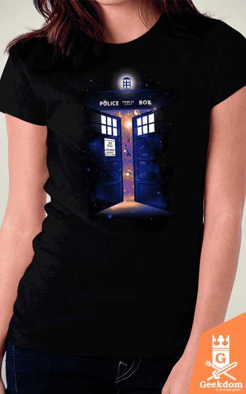 Camiseta Doctor Who - Portal do Tempo - by RicoMambo - comprar online
