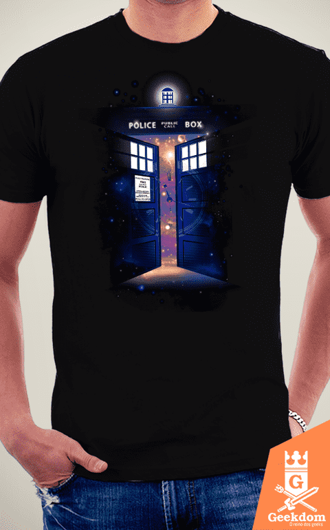 Camiseta Doctor Who - Portal do Tempo - by RicoMambo na internet