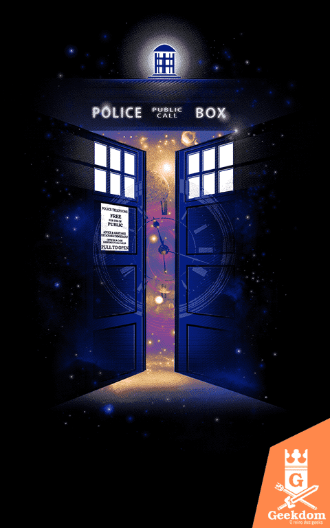 Camiseta Doctor Who - Portal do Tempo - by RicoMambo