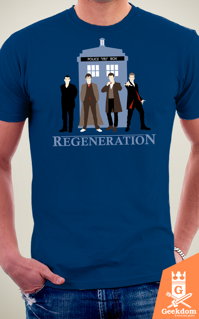 Camiseta Doctor Who - Regenerações - by Ddjvigo na internet