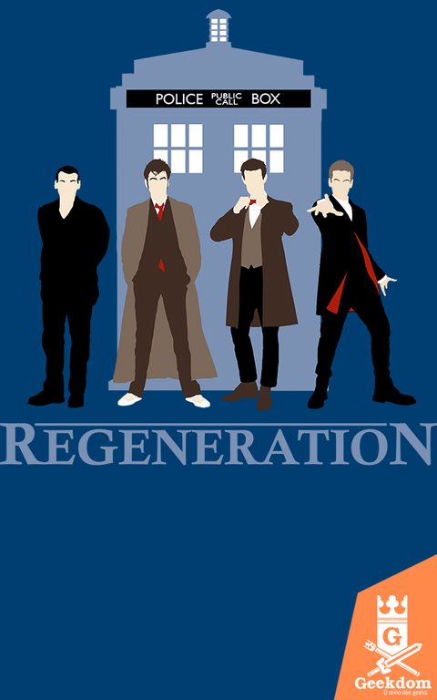 Camiseta Doctor Who - Regenerações - by Ddjvigo