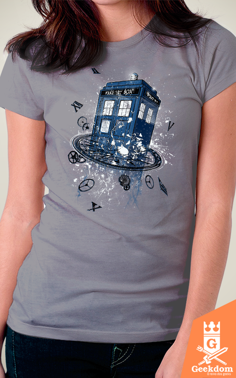 Camiseta Doctor Who - Rompendo o Tempo - by RicoMambo - loja online