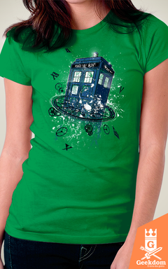 Camiseta Doctor Who - Rompendo o Tempo - by RicoMambo - comprar online