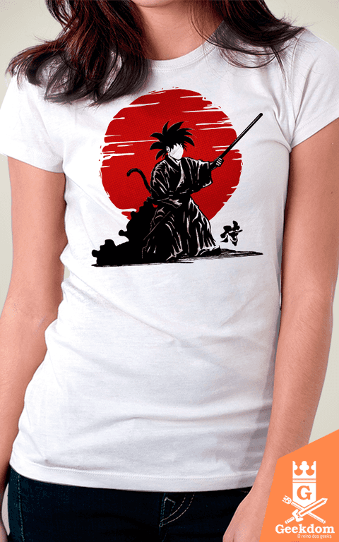 Camiseta Dragon Ball - Goku Samurai - by Le Duc - comprar online