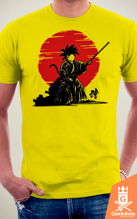 Camiseta Dragon Ball - Goku Samurai - by Le Duc - loja online