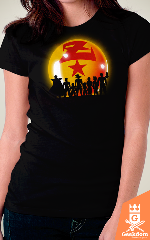 Camiseta Dragon Ball - Guerreiros - by Ddjvigo - comprar online