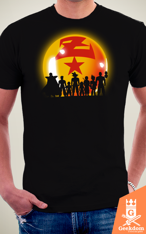 Camiseta Dragon Ball - Guerreiros - by Ddjvigo na internet