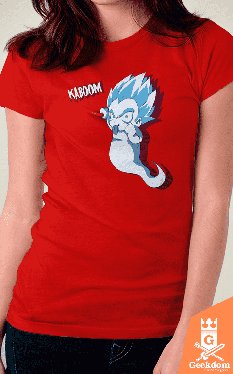 Camiseta Dragon Ball - Kaboom - by PsychoDelicia - comprar online