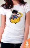 Camiseta Dragon Ball - Na Nuvem - by Piccolo | Geekdom Store | www.geekdomstore.com