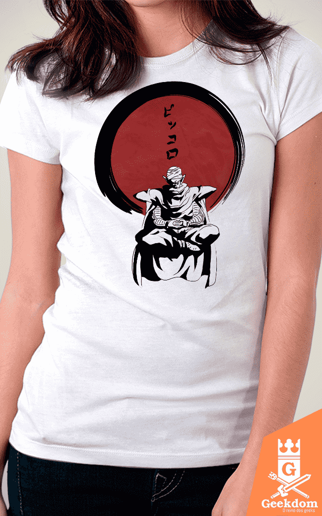 Camiseta Dragon Ball - Piccolo Zen - by Ddjvigo - comprar online