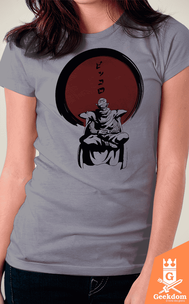 Camiseta Dragon Ball - Piccolo Zen - by Ddjvigo - Geekdom Store - Camisetas Geek Nerd