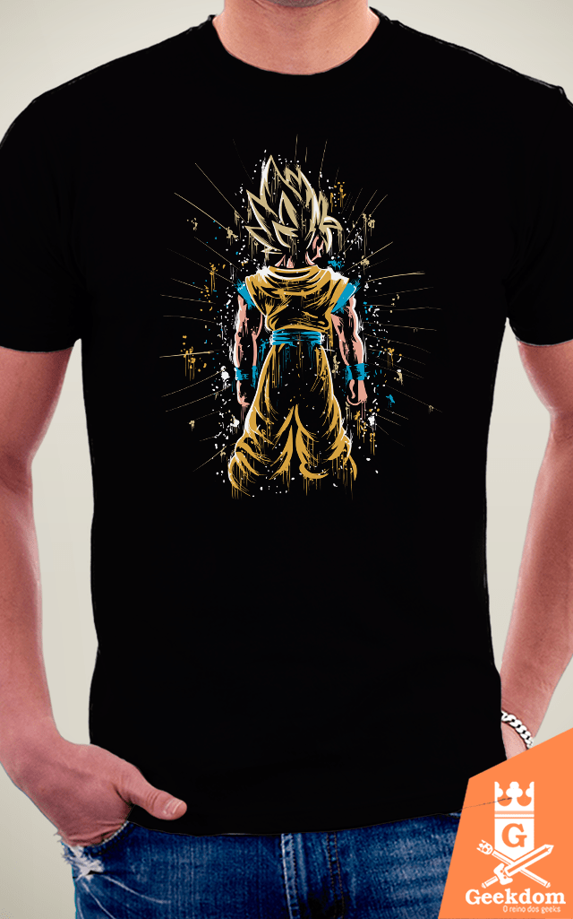 Camiseta Dragon Ball - Poder Concentrado - by Piccolo | Geekdom Store | www.geekdomstore.com