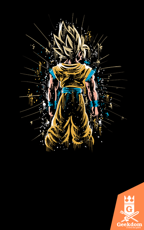 Camiseta Dragon Ball - Poder Concentrado - by Piccolo