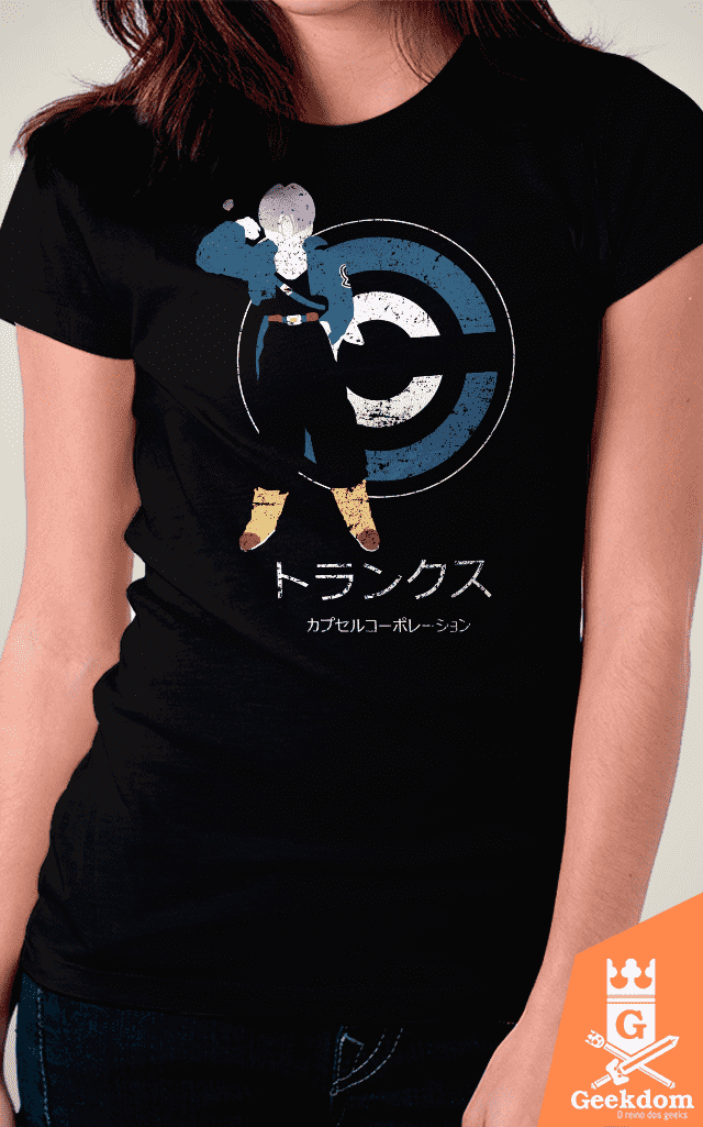 Camiseta Dragon Ball - Saiyajin do Futuro - by Ddjvigo - Geekdom Store - Camisetas Geek Nerd