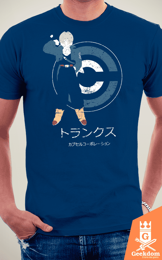 Camiseta Dragon Ball - Saiyajin do Futuro - by Ddjvigo na internet