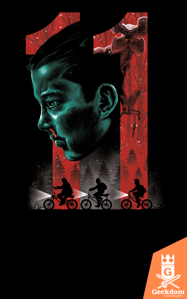 Camiseta Stranger Things - 11 - by Vincent Trinidad Art