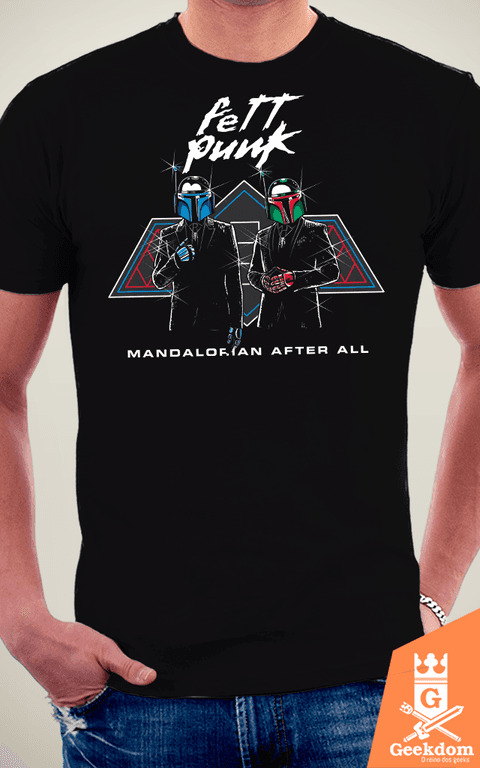 Camiseta Fett Punk - by Olipop na internet