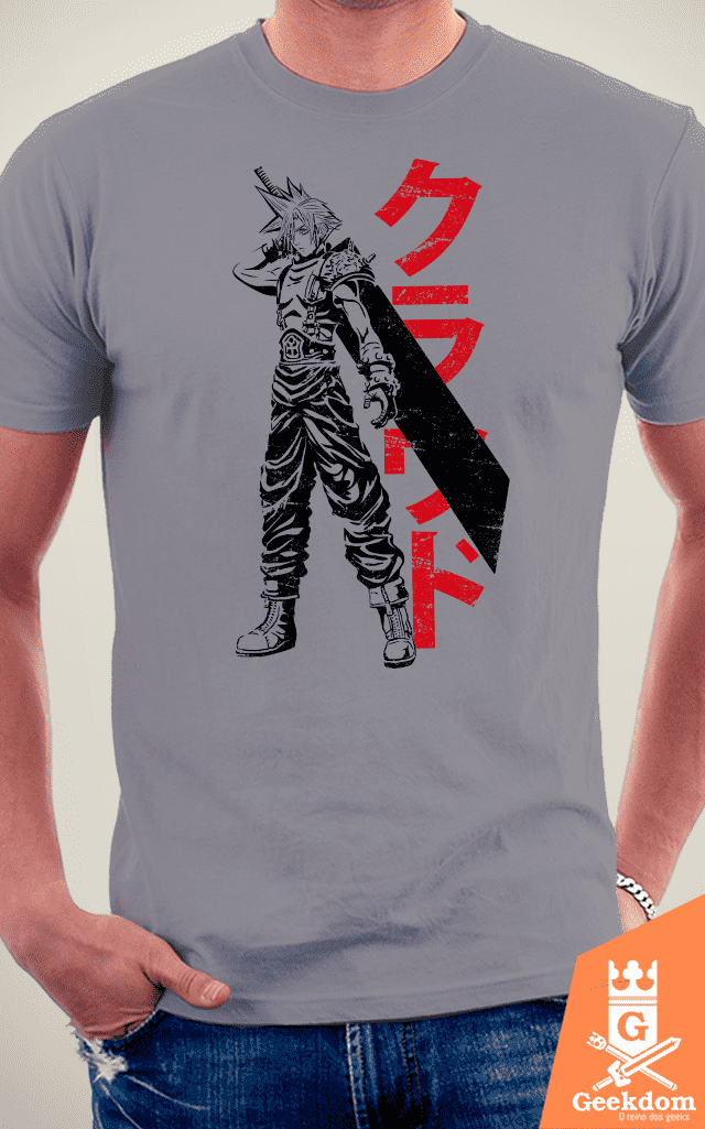Camiseta Final Fantasy - Mercenário - by Ddjvigo - loja online