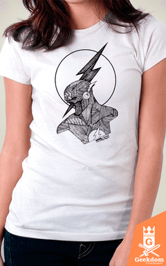 Camiseta Flash - by Andrei - Geekdom Store - Camisetas Geek Nerd