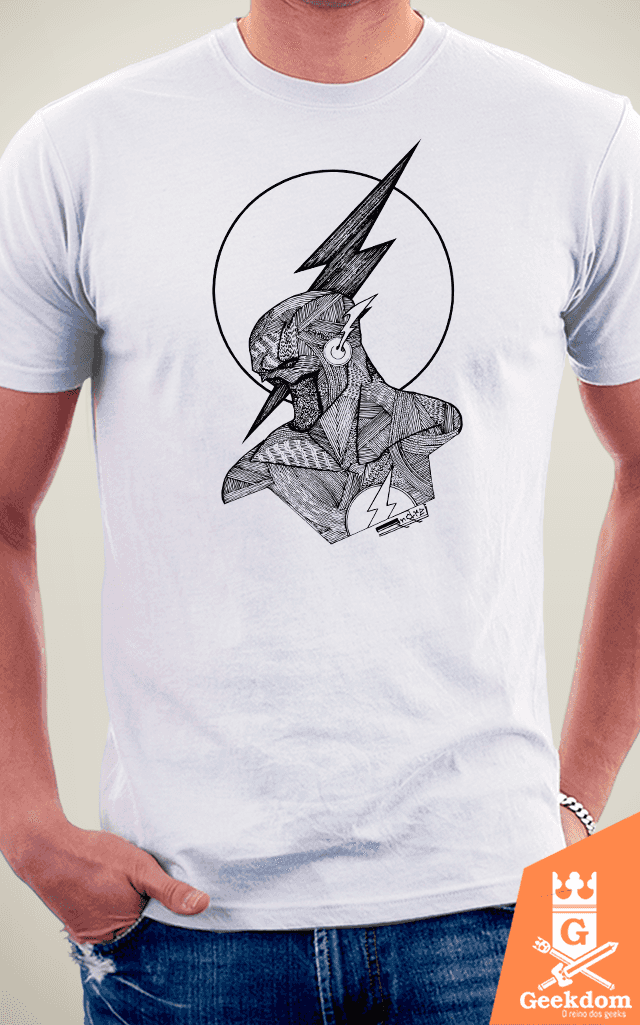 Camiseta Flash - by Andrei - loja online