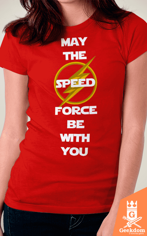 Camiseta Flash - Speed Force With You - by HugoHugo - comprar online