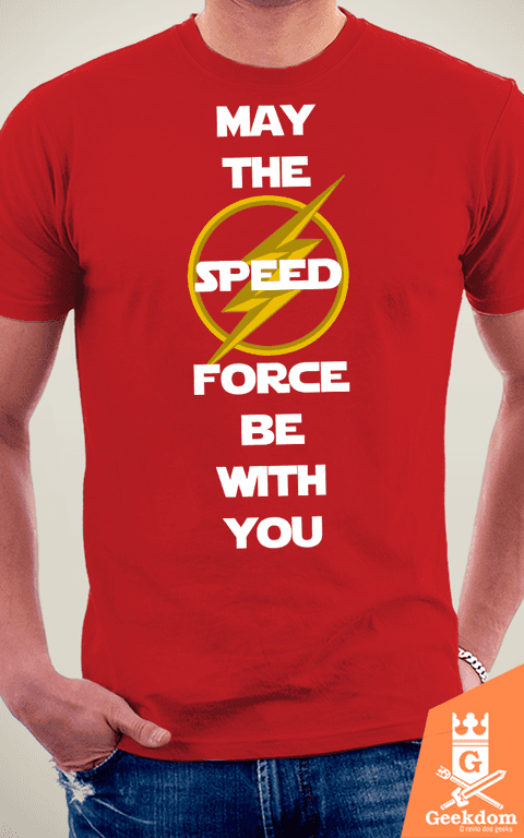 Camiseta Flash - Speed Force With You - by HugoHugo na internet
