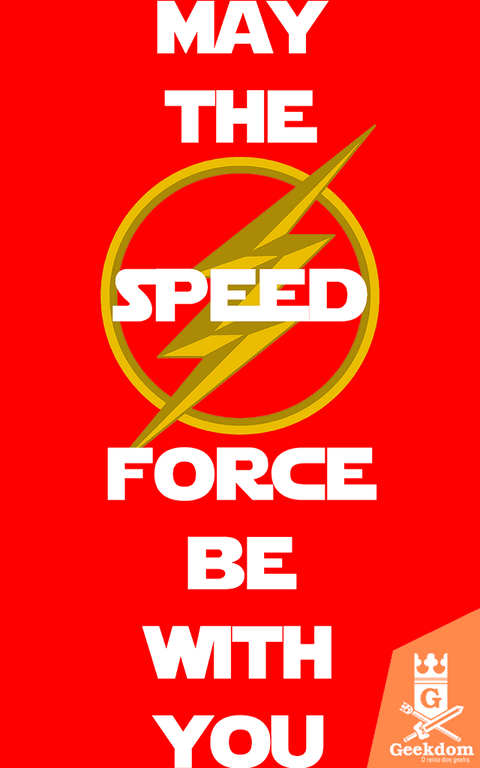 Camiseta Flash - Speed Force With You - by HugoHugo