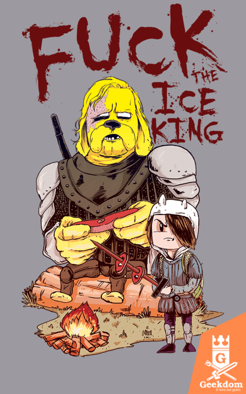 Camiseta F*** the Ice King - by Cardosonot