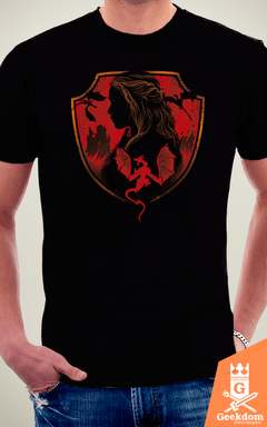 Camiseta Game of Thrones - Casa dos Dragões - by Vincent Trinidad Art | Geekdom Store | www.geekdomstore.com
