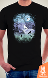 Camiseta Game of Thrones - Jon Snow do Norte - by RicoMambo | Geekdom Store | www.geekdomstore.com