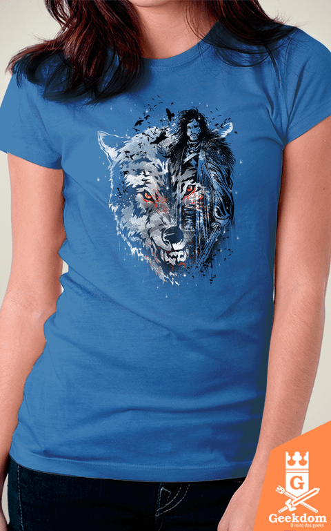 Camiseta Game of Thrones - Sempre um Corvo - by Ricomambo | Geekdom Store | www.geekdomstore.com