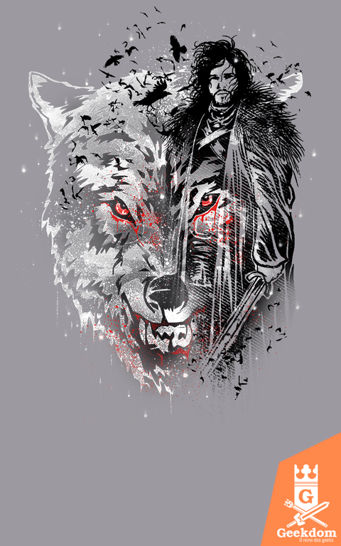 Camiseta Game of Thrones - Sempre um Corvo - by Ricomambo