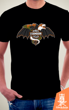 Camiseta Game of Thrones - Stormborn Dragon Cycles - by Soletine | Geekdom Store | www.geekdomstore.com