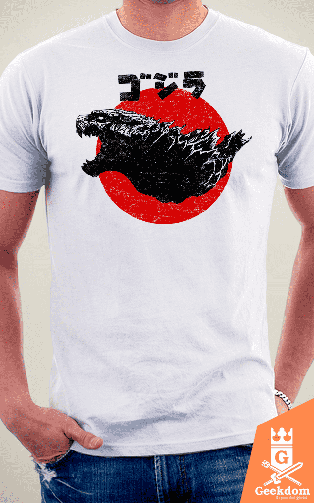Camiseta Godzilla - Surgimento do Rei - by Ddjvigo na internet