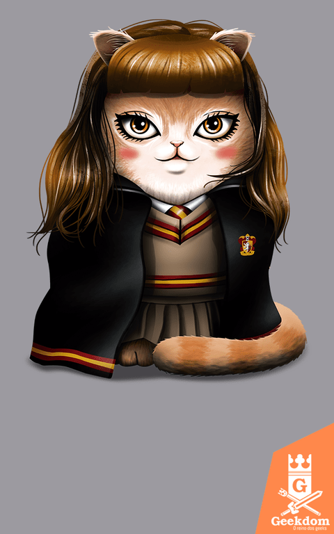 Camiseta Harry Potter - Hermeowne Granger - by Vincent Trinidad Art