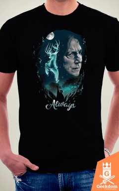 Camiseta Harry Potter - Mágica Sempre - by Vincent Trinidad Art | Geekdom Store | www.geekdomstore.com