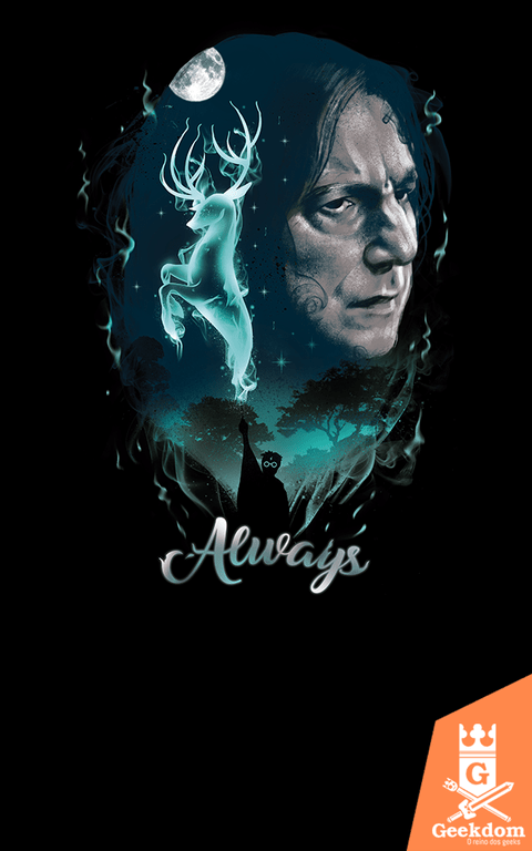 Camiseta Harry Potter - Mágica Sempre - by Vincent Trinidad Art