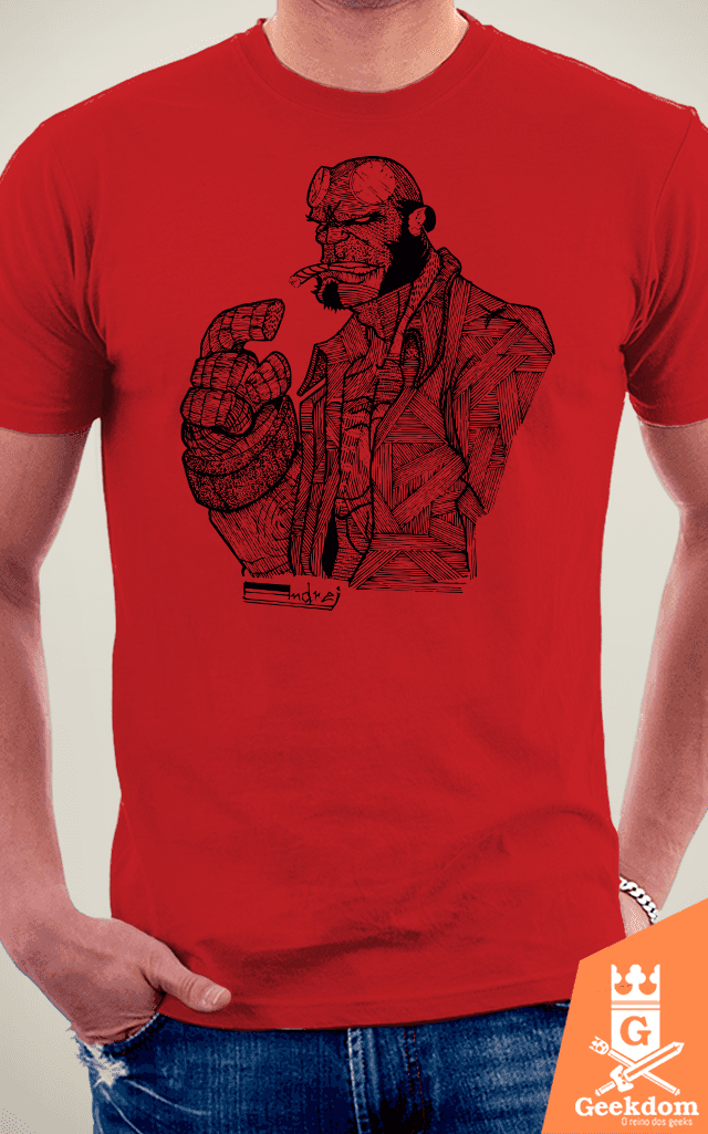 Camiseta Hellboy - by Andrei na internet