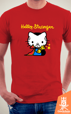 Camiseta Hello, Stranger - by Soletine na internet