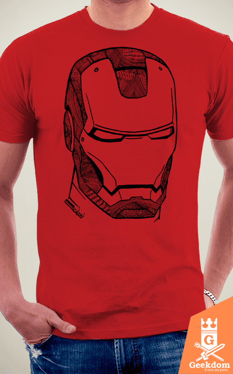 Camiseta Iron Man - O Homem de Ferro - by Andrei na internet