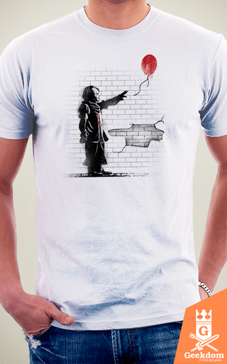 Camiseta IT - A Coisa do Graffiti - by Vincent Trinidad Art | Geekdom Store | www.geekdomstore.com