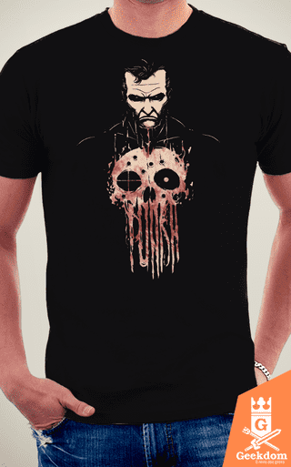 Camiseta Justiceiro - Punição - by Pigboom na internet