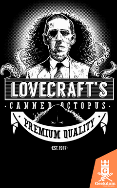 Camiseta Lovecraft - Octopus Enlatado - by Azafran