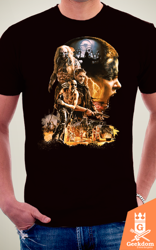 Camiseta Mad Max - Fury - by HugoHugo na internet