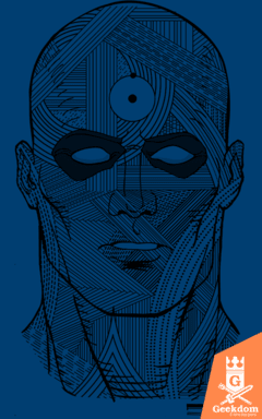 Camiseta Watchmen - Dr. Manhattan - by Andrei | www.geekdomstore.com