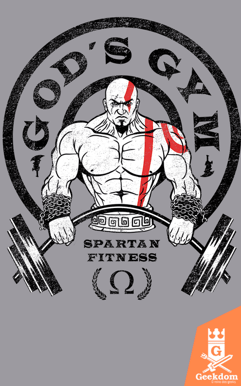 Camiseta God of War - Academia dos Deuses  - by Ddjvigo