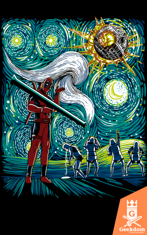 Camiseta Deadpool - A Estrela da Morte - by Ddjvigo