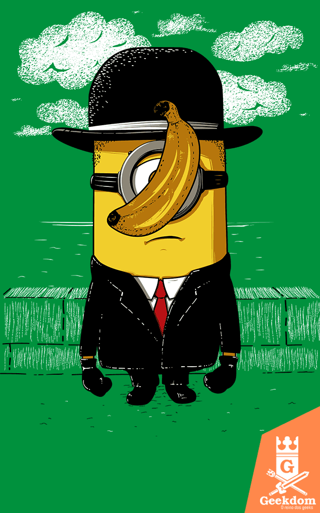 Camiseta Minion Magritte - by Le Duc